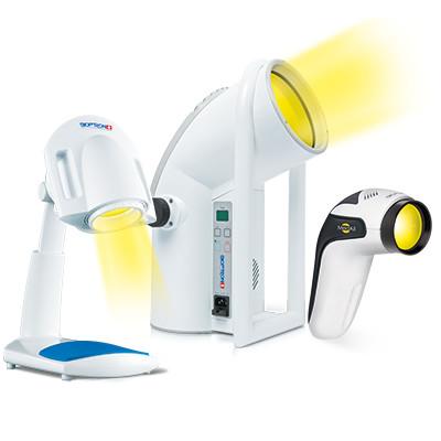 BIOPTRON lampen voor lichttherapie