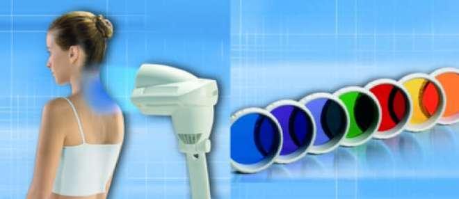 Bioptron kleurenlichttherapie