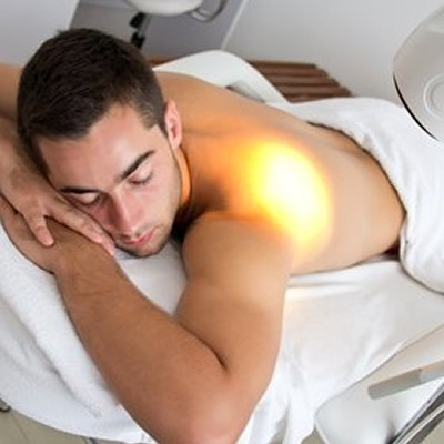Bioptron lamp rugpijn
