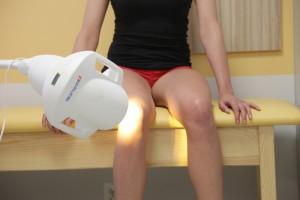 bioptron knie herstel genezing huis lichttherapie