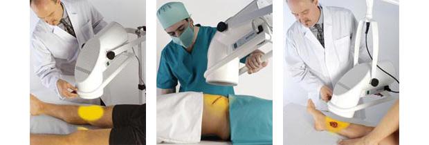 medische wonden behandeling lichttherapie zepter